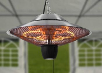 Firefly™ 1.5kW Ceiling Mounted Halogen Bulb Electric Infrared Patio Heater