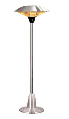 Firefly™ 2.1kW Free Standing Adjustable Height Halogen Bulb Electric Infrared Patio Heater