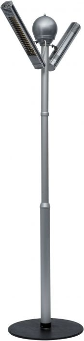 4kW IP67 Tower Palms Halogen Bulb Infrared Electric Patio Heater by Burda™