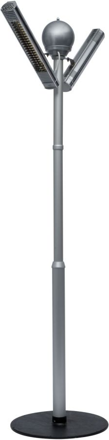 Burda 4kW Tower Palms Halogen Bulb Infrared Electric Patio Heater