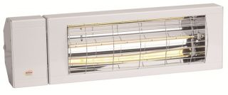 1.5kW IP24 SmartHalogen Bulb Infrared Electric Patio Heater by Burda™