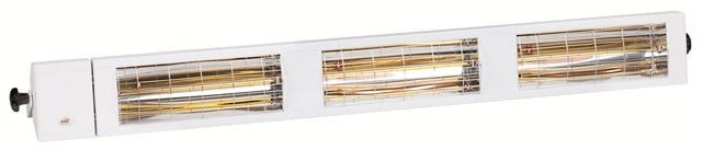 6kW IP24 Smart Halogen Bulb Infrared Electric Patio Heater Multi by Burda™