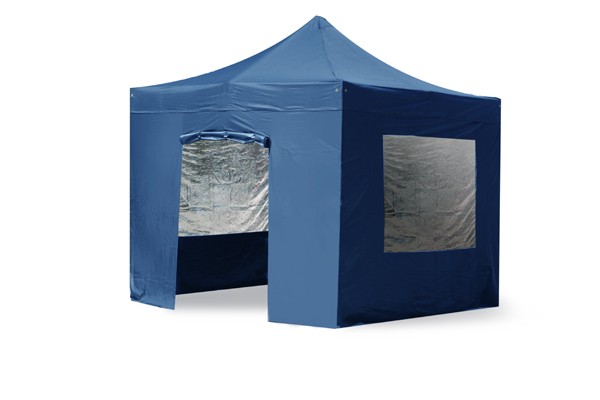 Side Walls and Door Only for Aluminium 3m x 3m Foldable Gazebo - Blue