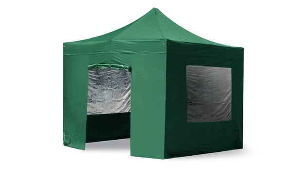 Side Walls and Door Only for Aluminium 3m x 3m Foldable Gazebo - Green