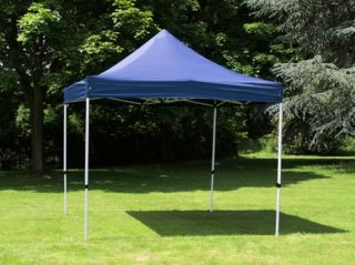 Standard 3m x 3m Foldable Pop Up Gazebo - Blue