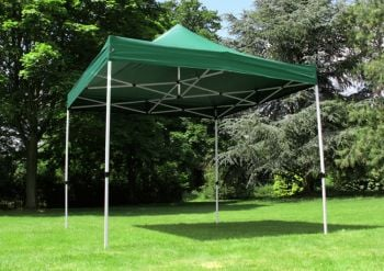 Standard 3m x 3m Foldable Pop Up Gazebo - Green