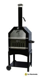 Steel Outdoor Pizza BBQ Oven & Smoker - 1.6m