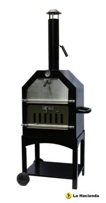 Steel Pizza BBQ Oven & Smoker