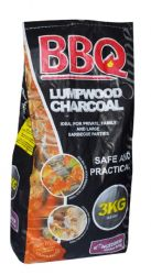 Barbecue Lumpwood Charcoal 3kg