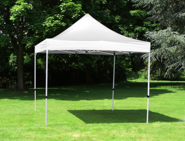 Standard 3m x 3m Foldable Pop Up Gazebo - White