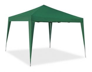 Portable Budget 3m x 3m Foldable Pop Up Gazebo Tent - Green