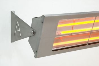 Alfresco 2kW Halogen Bulb Infrared Electric Wall Mounted Heater