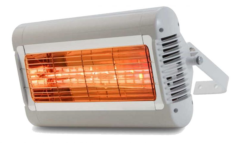 Tansun Sorrento 2kW Electric Quartz Bulb Heater