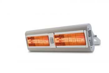 Tansun Sorrento 3kW Halogen Bulb Infrared Electric Double Heater