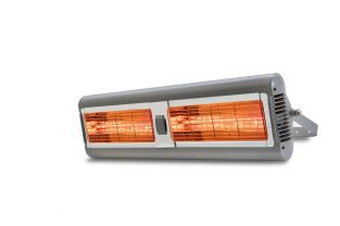 Tansun Sorrento 4kW Halogen Bulb Infrared Electric Double Heater