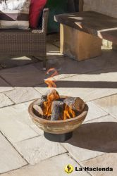 Cortez Fire Bowl - Copper