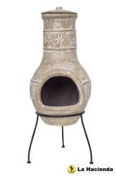 Star Flower Chimenea - H85cm x D36cm