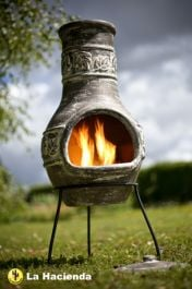 Maple Leaf Chimenea - H85cm x D36cm By La Hacienda™