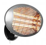 Firefly� 2kW Wall Mounted Quartz Bulb Electric Heater with 3 Power Settings