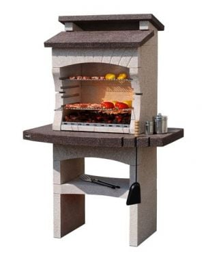 Tarragonna Crystal Marble Charcoal Barbecue H173cm x W170cm