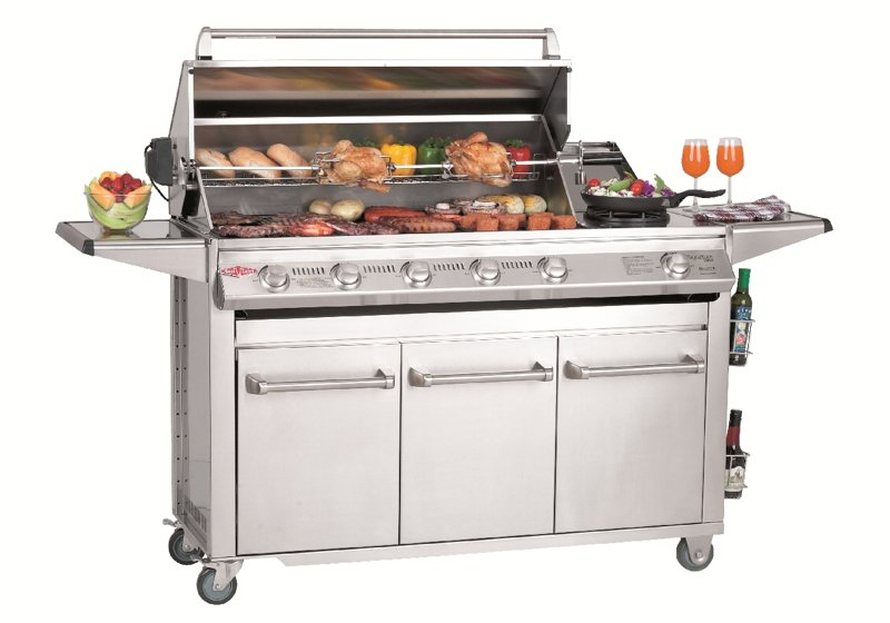 Beefeater Signature 6 Burner Barbecue with Side Burner