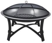 Prima Stainless Steel Fire Pit - Dia 73cm