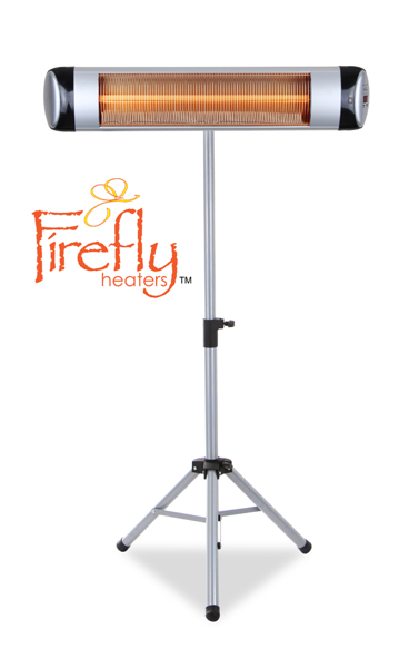 Free-Standing Aluminium Pole with Adjustable Height for Firefly™ Heater
