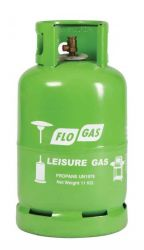 Flogas 11kg Leisure Gas Cylinder for Patio Heaters