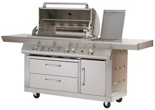 Connoisseur 5 Burner Gas Barbecue H126cm x W213cm