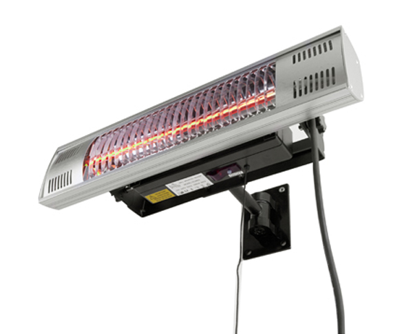 1.5kW Electric Gold Bulb Patio Heater with Remote Control by Firefly™
