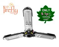 Firefly™ 2kW Electric Quartz Bulb Parasol Patio Heater