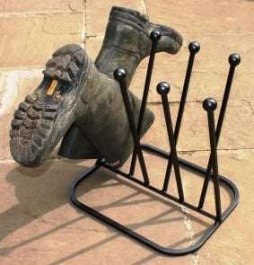 Wellington Boot Rack for Four Pairs (Round)