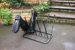 Wellington Boot Rack for Five Pairs