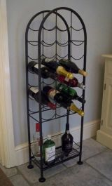 23 Bottle Wine Rack