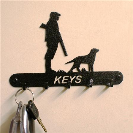 Gun Down Key Holder