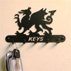 Welsh Dragon Key Holder