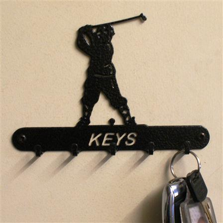 Golfer Key Holder