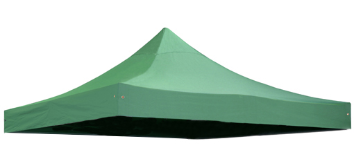 Replacement Roof Canopy for 3m x 3m Gazebos - 300D Green