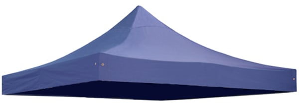 Replacement Roof Canopy for 3m x 3m Gazebos - 500D Blue