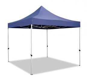Hybrid 3m x 3m Pop Up Steel/Aluminium Gazebo - Blue