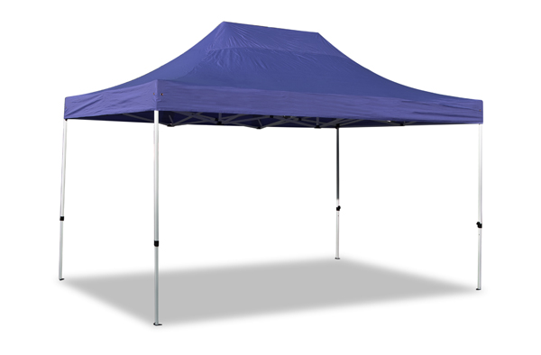 Hybrid Plus 3m x 4.5m Pop Up Steel/Aluminium Gazebo - Blue