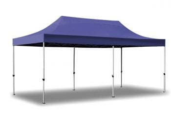 Standard Plus 3m x 6m Pop Up Steel Gazebo - Blue