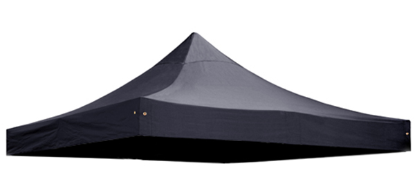 Replacement Roof Canopy for 3m x 3m Gazebos - 300D Black