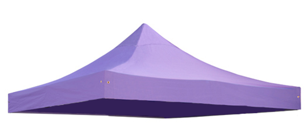 Replacement Roof Canopy for 3m x 3m Gazebos - 300D Lilac