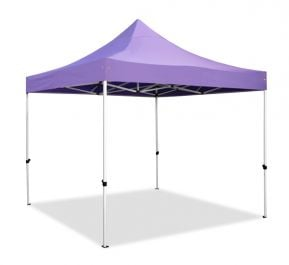Hybrid Plus 3m x 3m Pop Up Steel/Aluminium Gazebo - Lilac