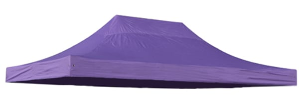 Replacement Roof Canopy for 3m x 4.5m Gazebos - 500D Lilac