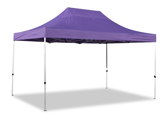 Standard Plus 3m x 4.5 Pop Up Steel Gazebo - Lilac