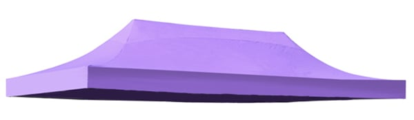 Replacement Roof Canopy for 3m x 6m Gazebos - 500D Lilac