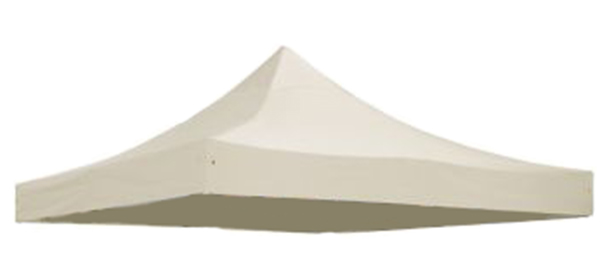 Replacement Roof Canopy for 3m x 3m Gazebos - 300D Sand