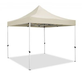 Hybrid Plus 3m x 3m Pop Up Steel/Aluminium Gazebo - Sand